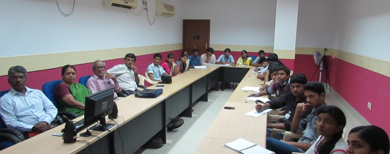 A visit to the BSNL Office at Coimbatore  Students gained